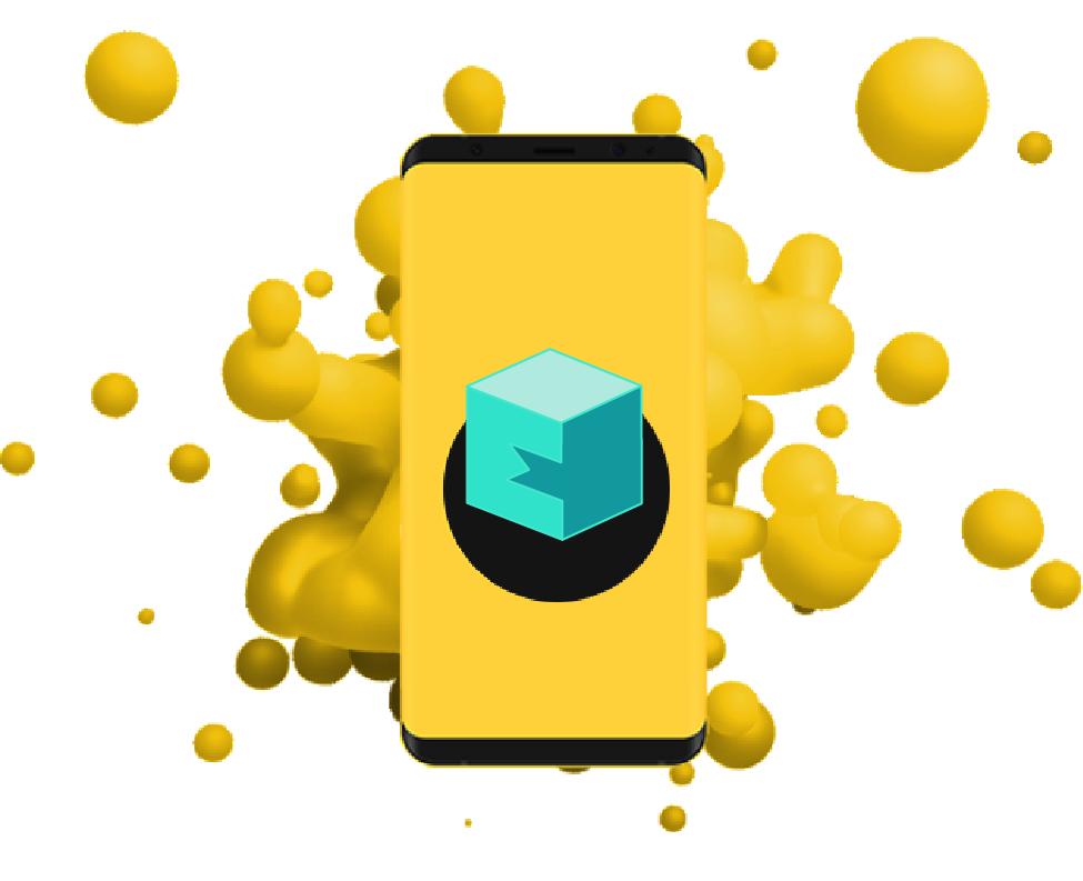 Yellow Phone Logo