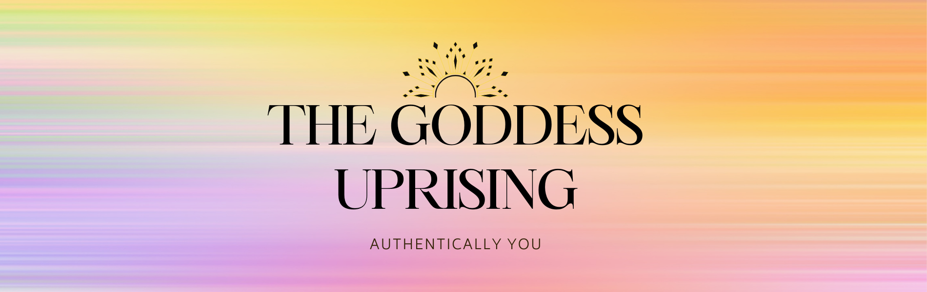 The Goddess Uprising Banner