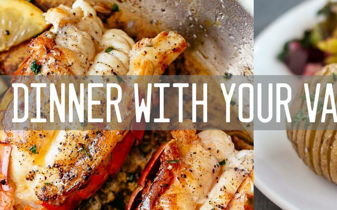 Lobster Dinner with Your Valentine