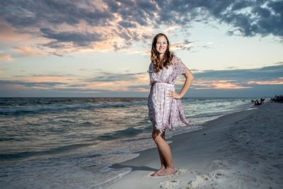 South Walton Senior Portrait Photographers