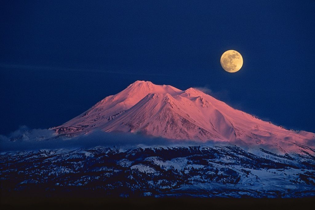 The magic of Mount Shasta