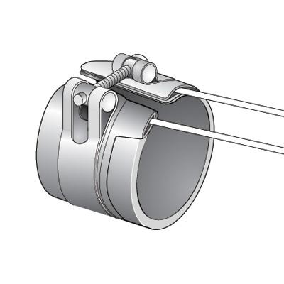 Nozzle Strap Lockup Heater