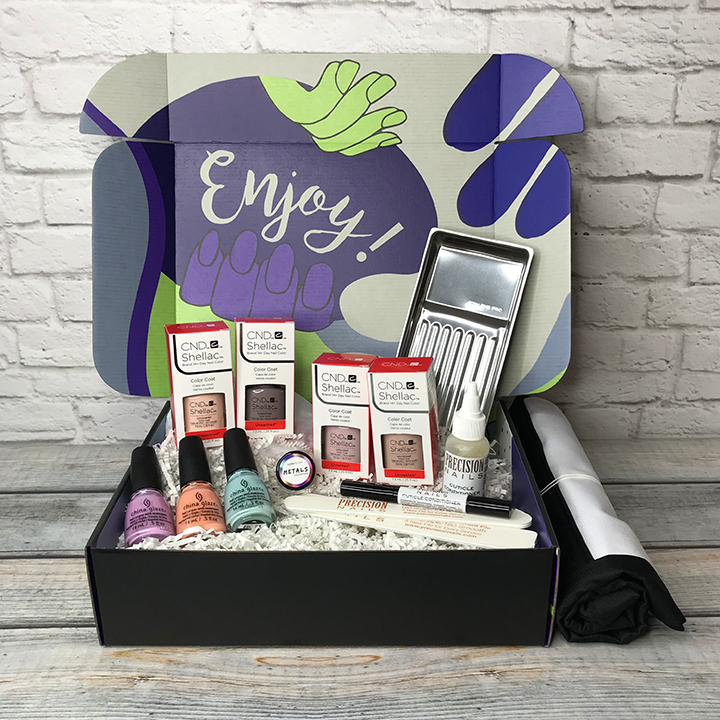 The Nailscape Jan Feb Box Subscriptions for Nail technician