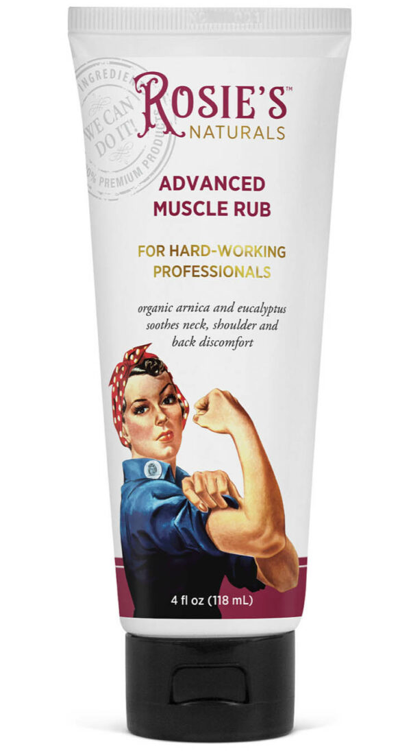 Rosie's Naturals Advanced Muscle Rub