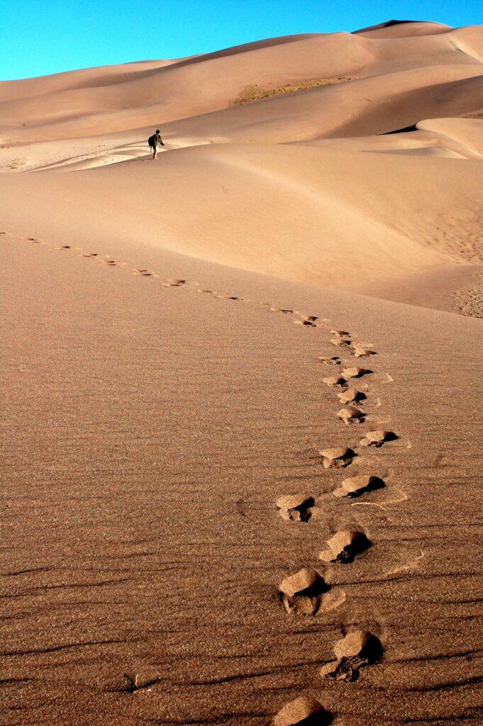dunes hike