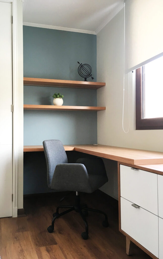 estudio nordico home office