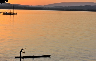 Evening fishing in Petit Goave