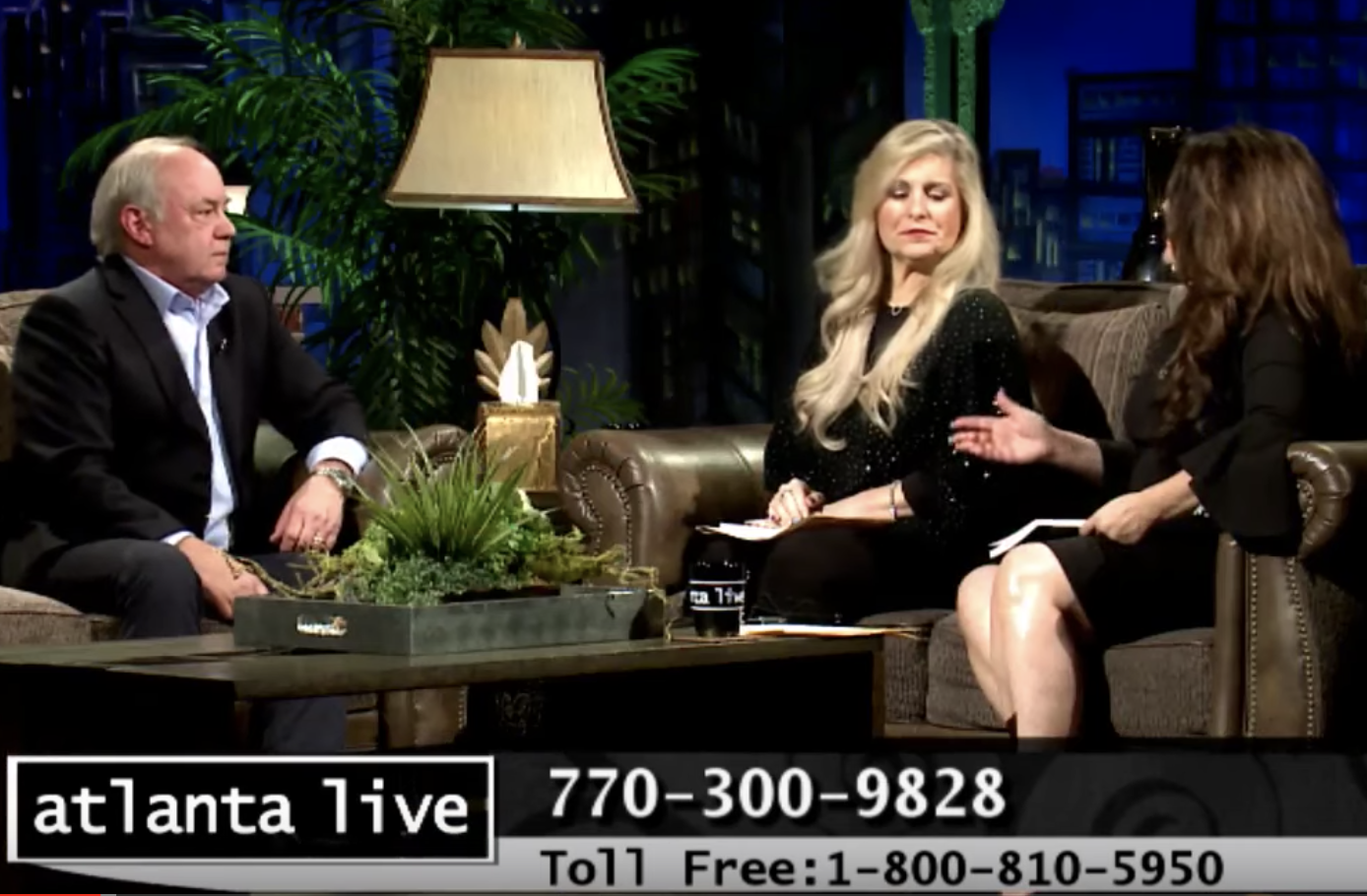 "Dr. Jim Ingvoldstad appears on ""Atlanta Live"" to talk about his book, ""Road Trip."""