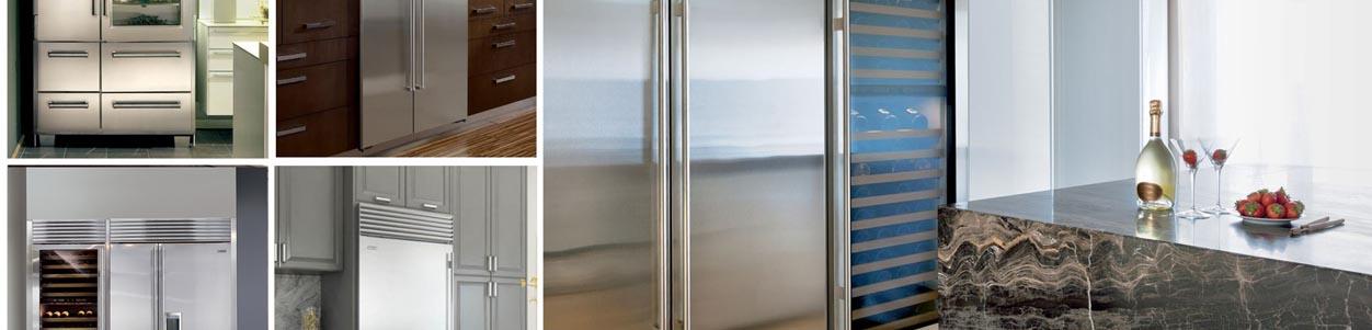 Various Styles of Refrigerators