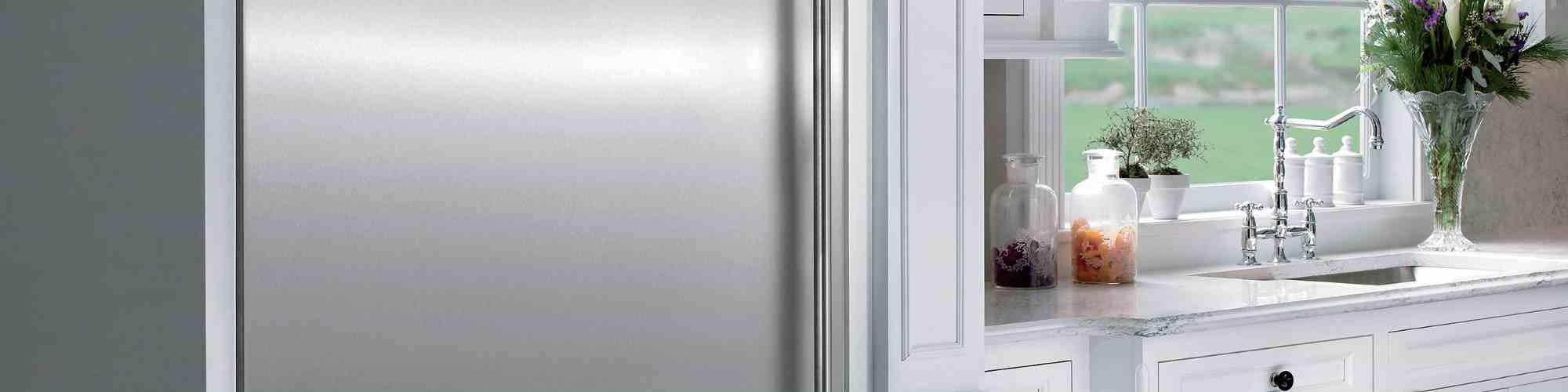 SubZero Refrigerator Close Up