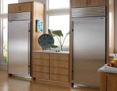 Fancy Kitchen with SubZero Freezers