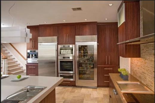 beautiful kitchen with sub-zero appliances
