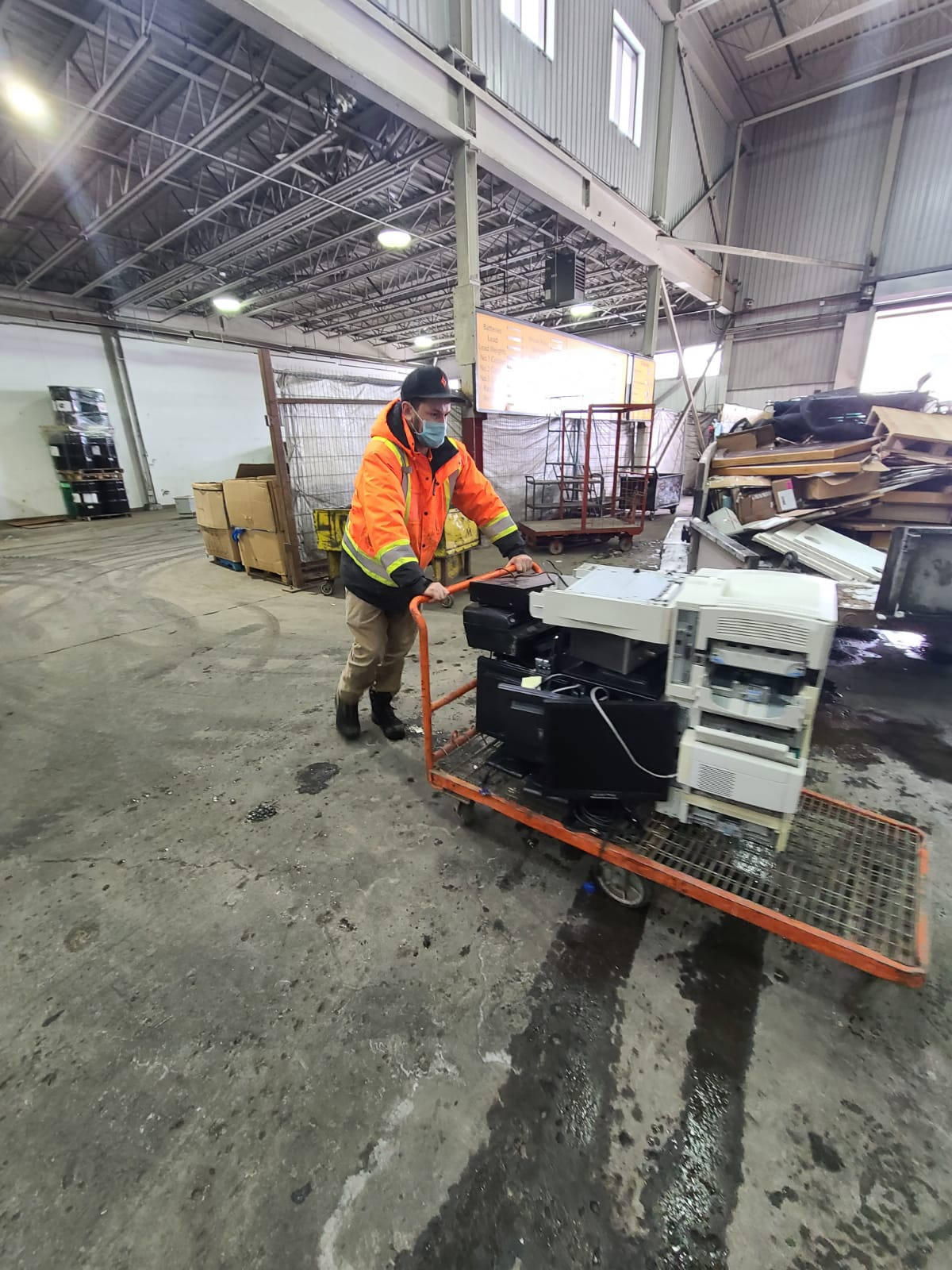 cleaning a warehouse in ottawa for junk removal