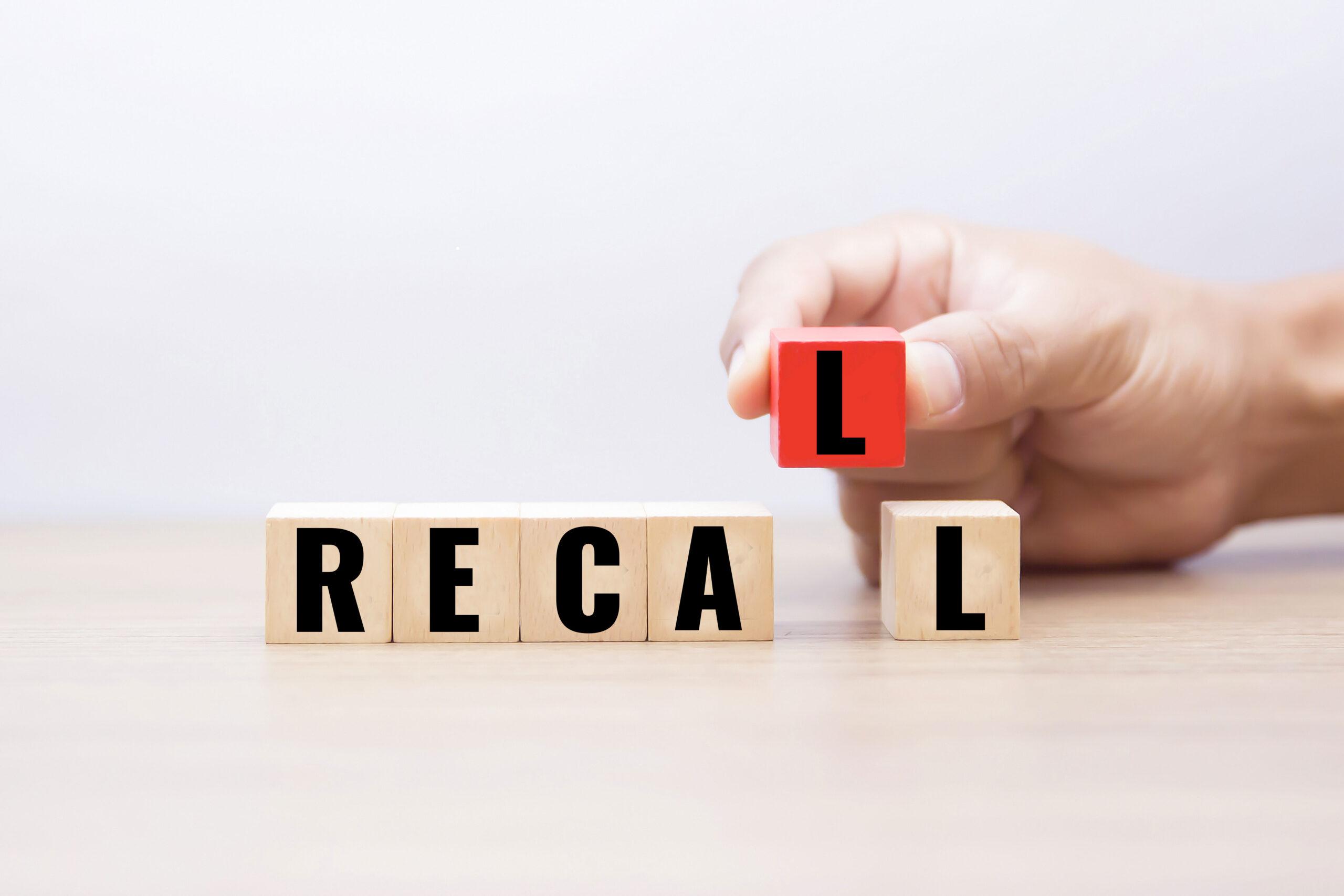 Medical device recalls FDA