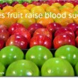 fruit, diabetes, and blood sugar