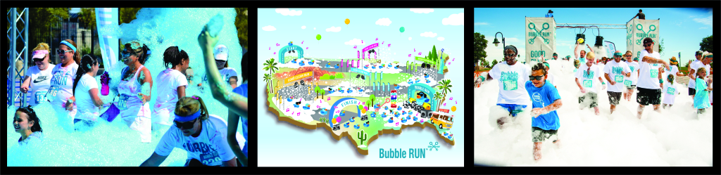 bubble run photos