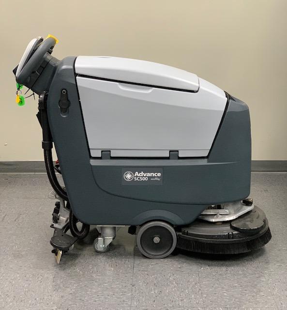 Advanced Push Floor Sweeper