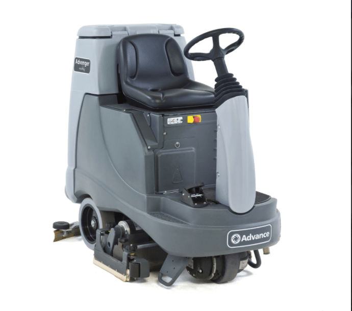Ride Industrial floor cleaner