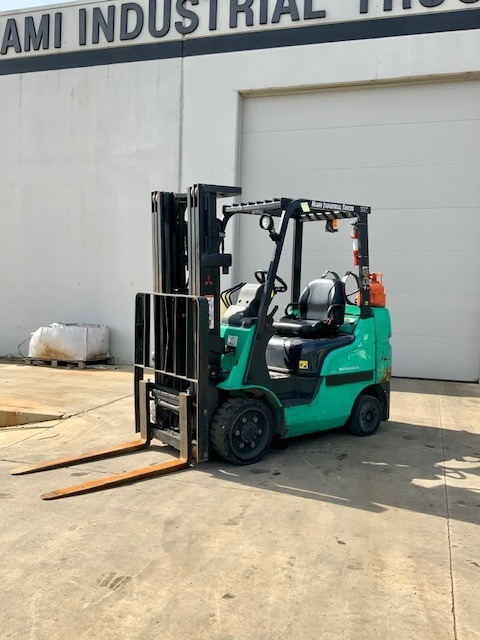 Green Forklift