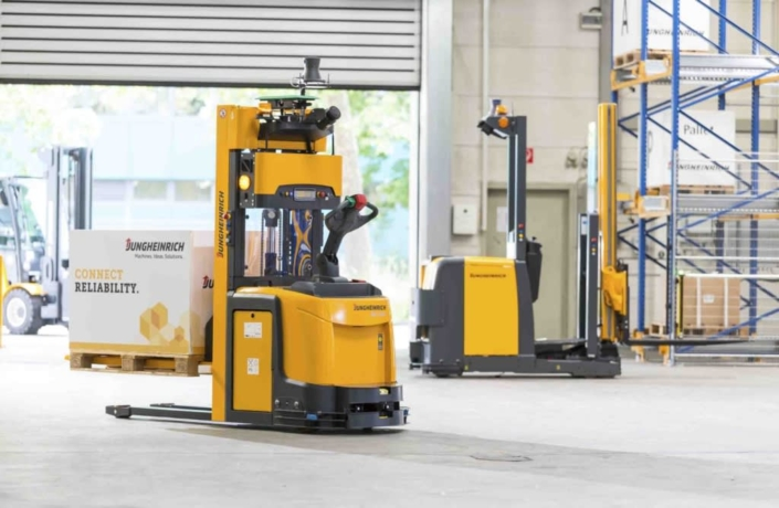 Autonomous technology and automated guided vehicle systems (AGVs)