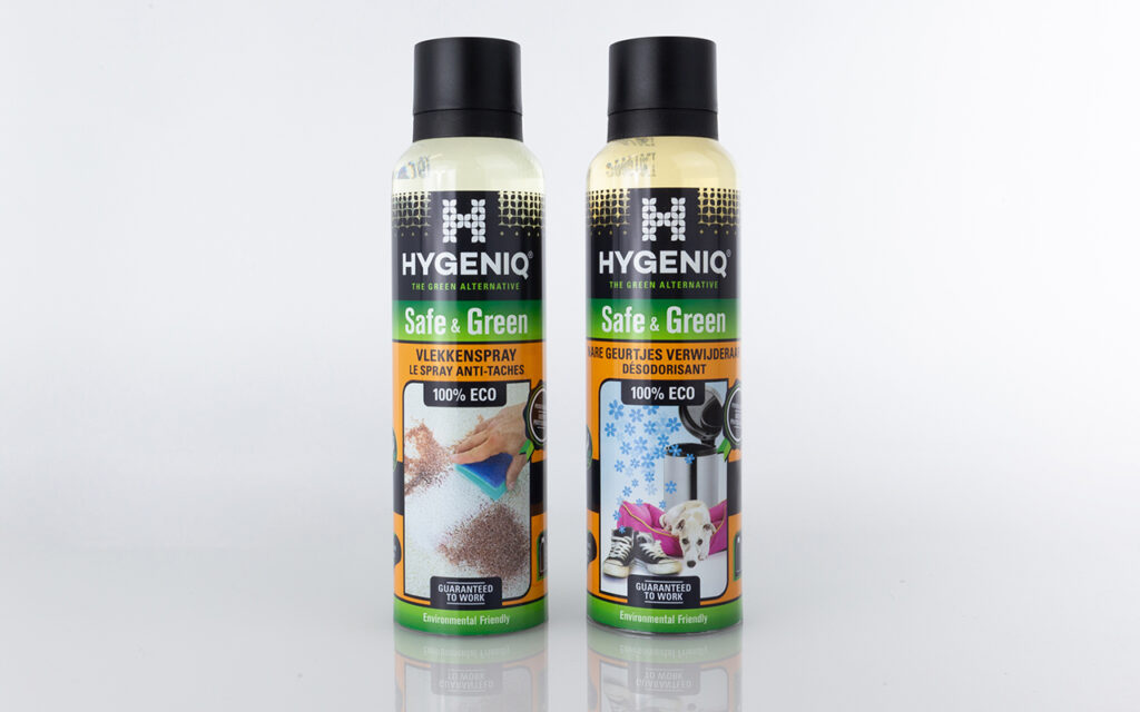 Photo of Hygeniq spray products