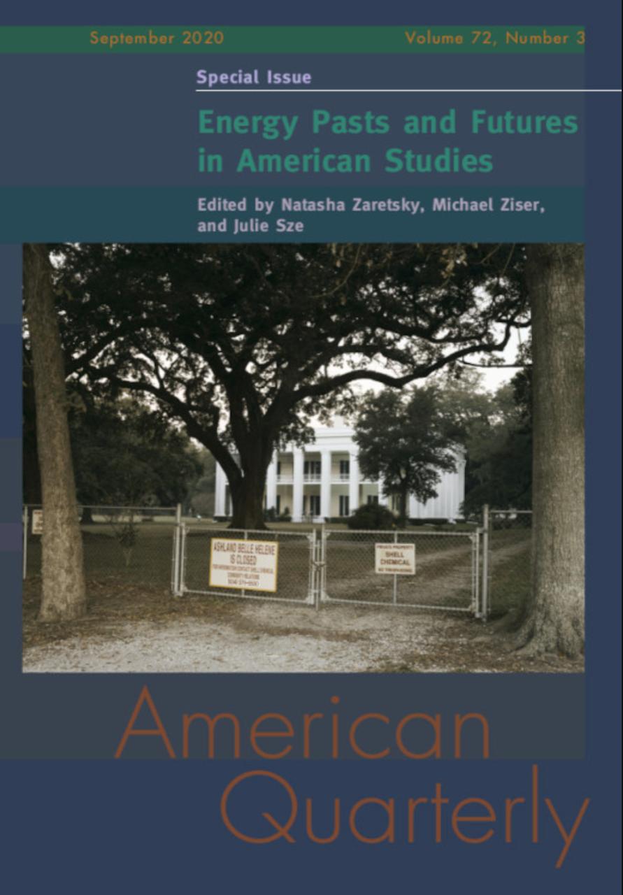 American Quarterly Journal Screenshot