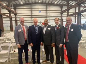 Asa Hutchinson Law Group founder and Arkansas Governor Asa Hutchinson, as well as the firm's managing partner Asa Hutchinson III, attended the grand opening of the new Hefei Risever manufacturing facility recently constructed in Jonesboro, Arkansas.