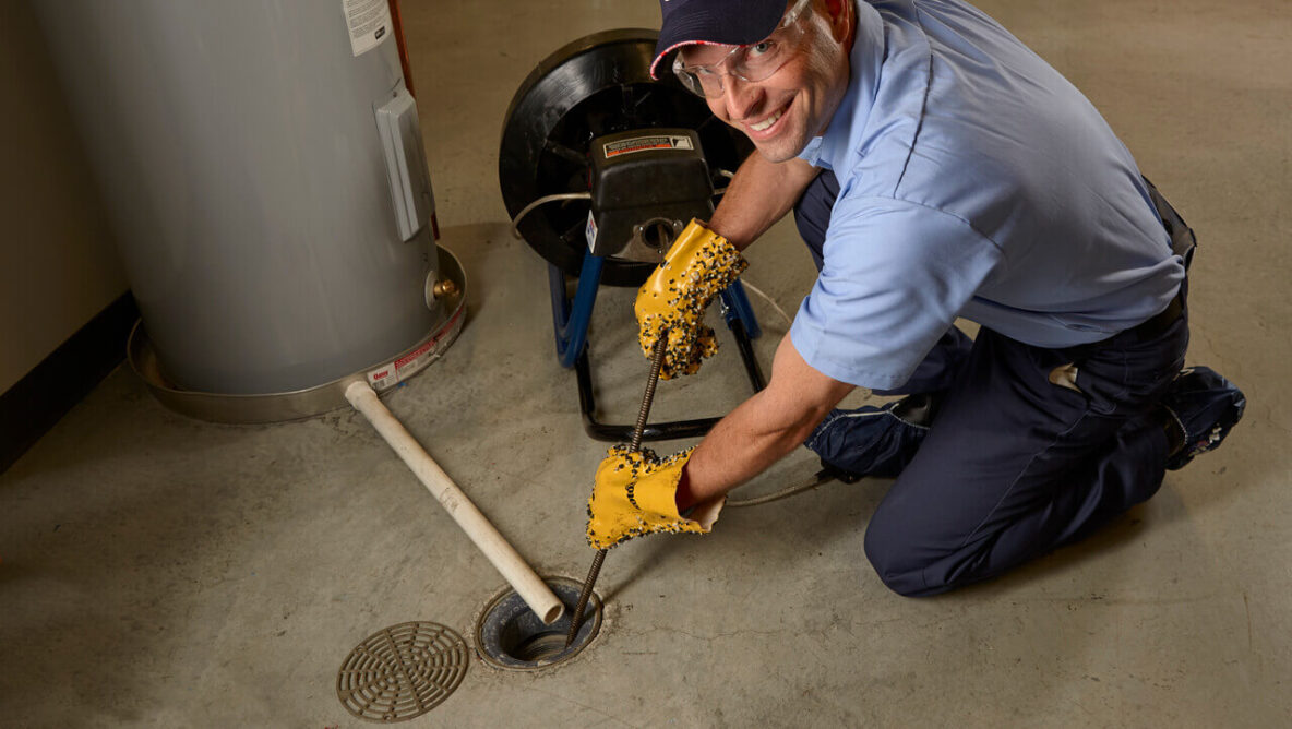 Floor Drain Cleaning by Roto-Rooter of Northern Michigan