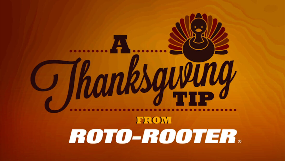 Thanksgiving Plumbing Tipss from Roto-Rooter of Northern Michigan