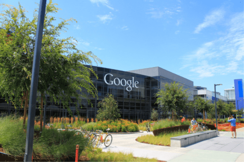 Google headquarters, one of the most beautiful office buildings in California