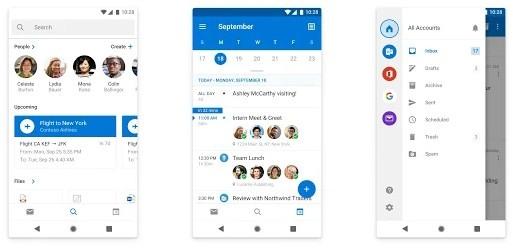 Screenshot of Office365 app interface