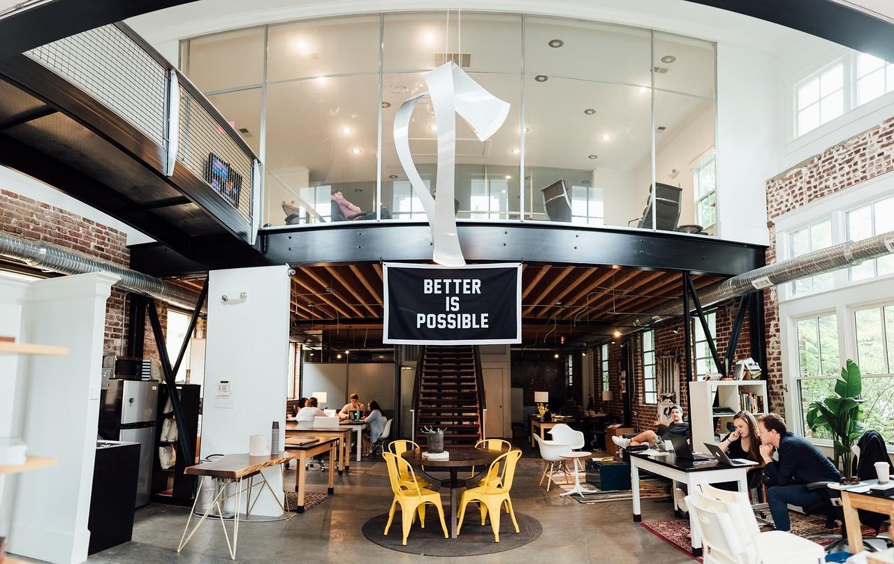 An example of a modern office design.