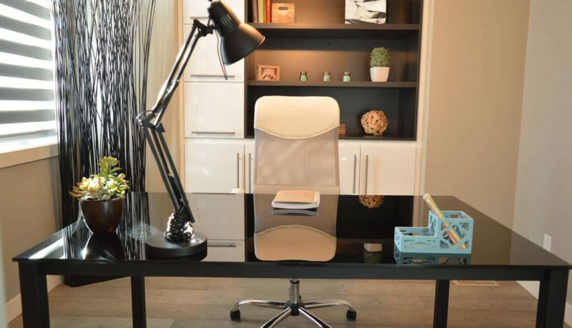An example of a design fit for small office spaces.