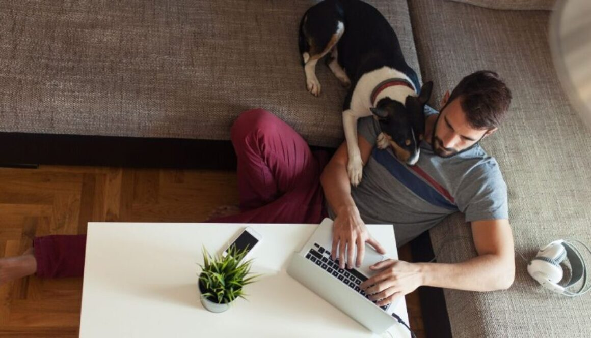 Working from home meaning.