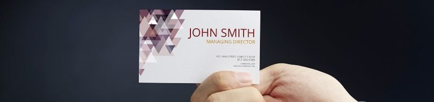 Business card size in pixels.