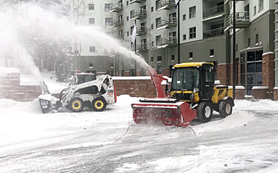 Telluride Snow Removal Parking Lot