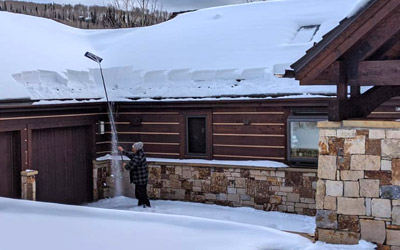 Telluride Snow Removal Roof