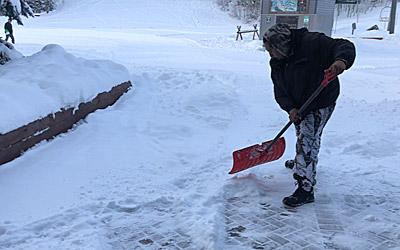 Telluride Snow Removal Walkway