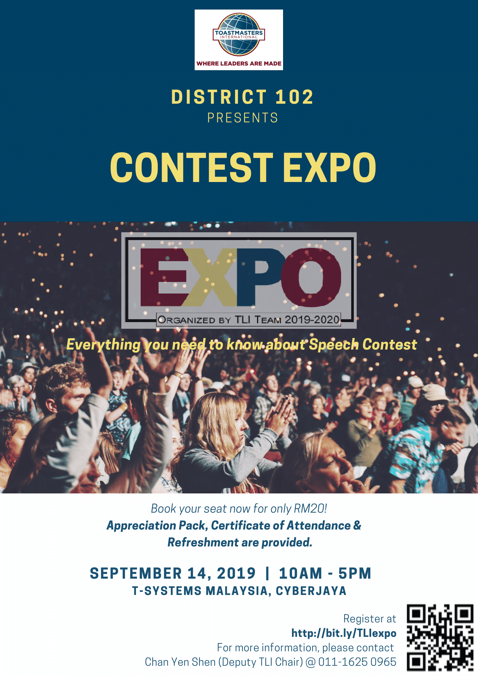 Toastmaster's District 102 Contest Expo 2019/2020