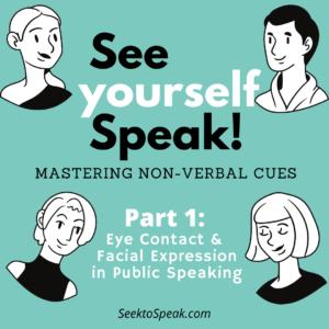 Non-Verbal Cues in Public Speaking