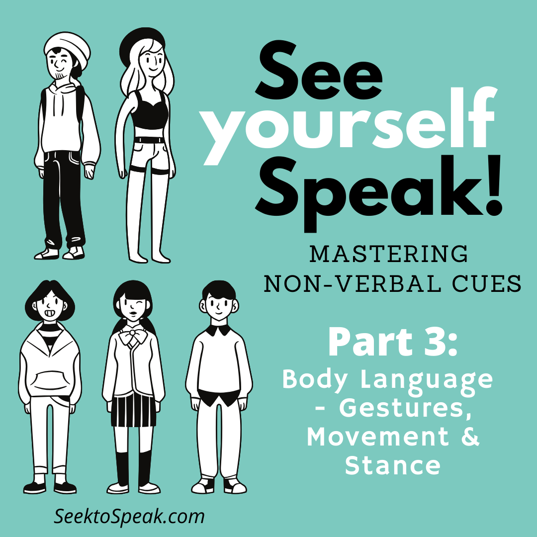 Body Language – How to use it to your advantage