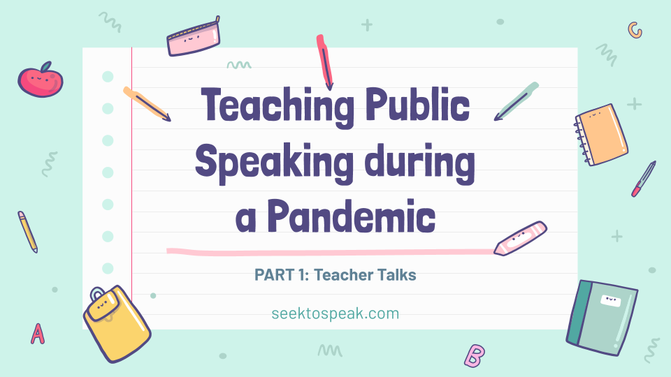 Teaching Public Speaking during a Pandemic