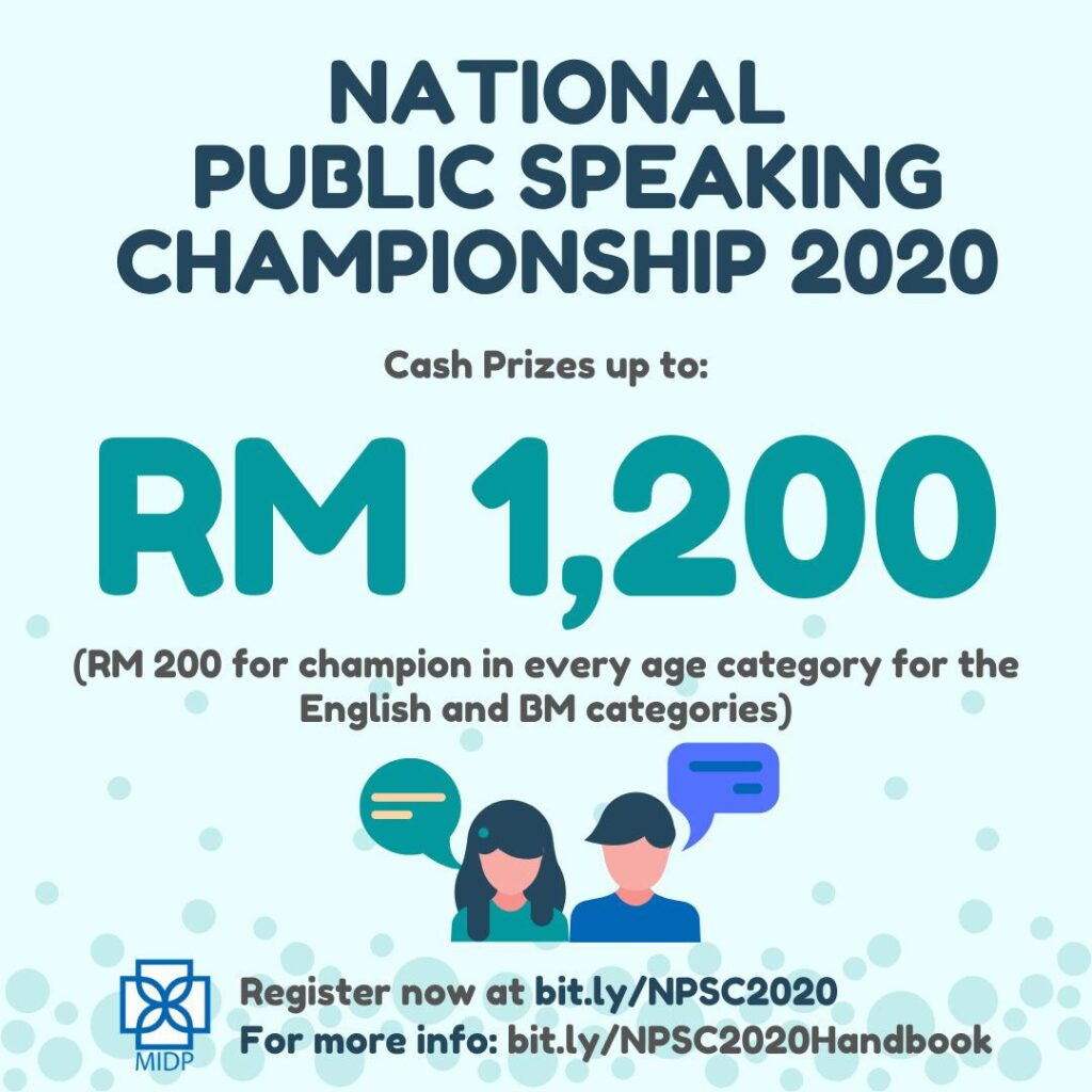 National Public Speaking Championship 2020
