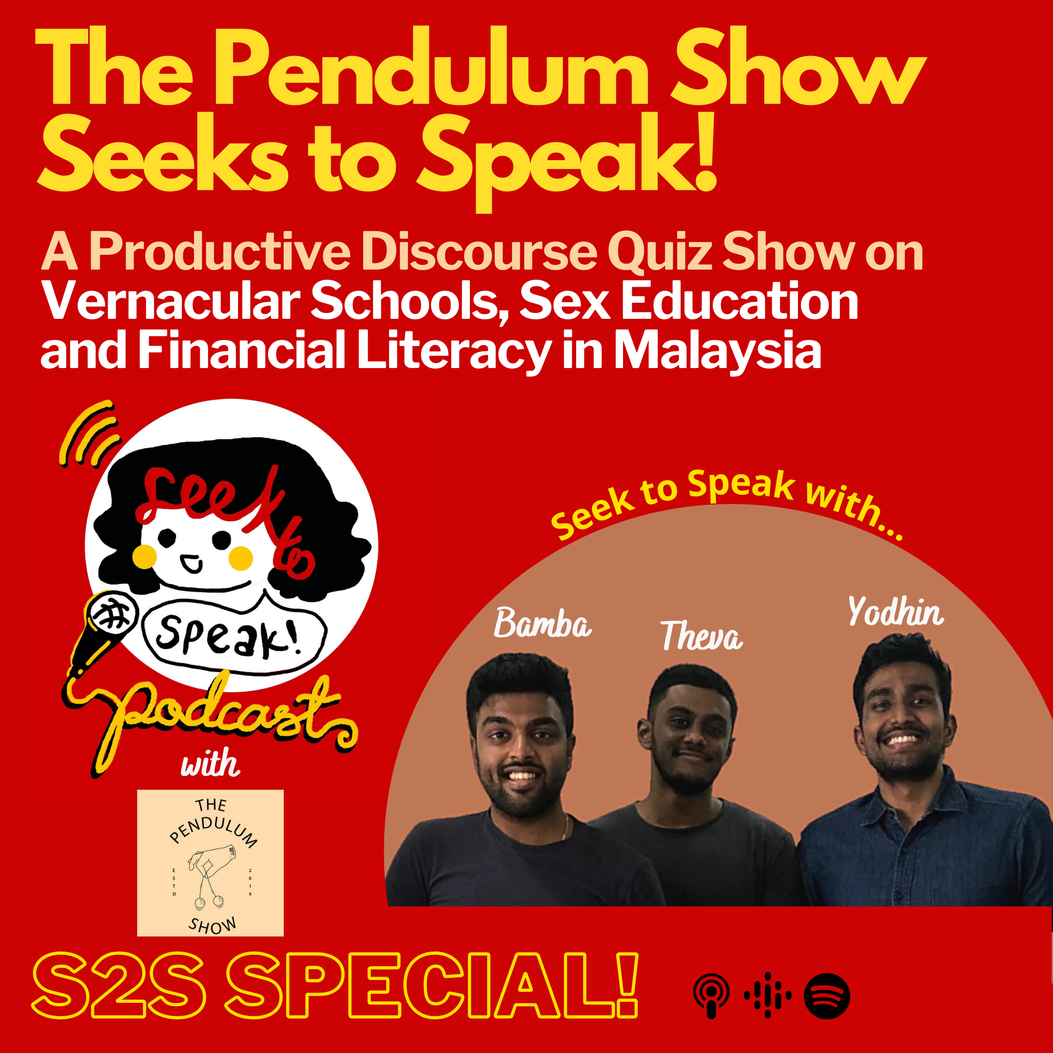 A Productive Discourse Quiz on Vernacular Schools, Sex Education, and Financial Literacy in Malaysia with the Pendulum Show