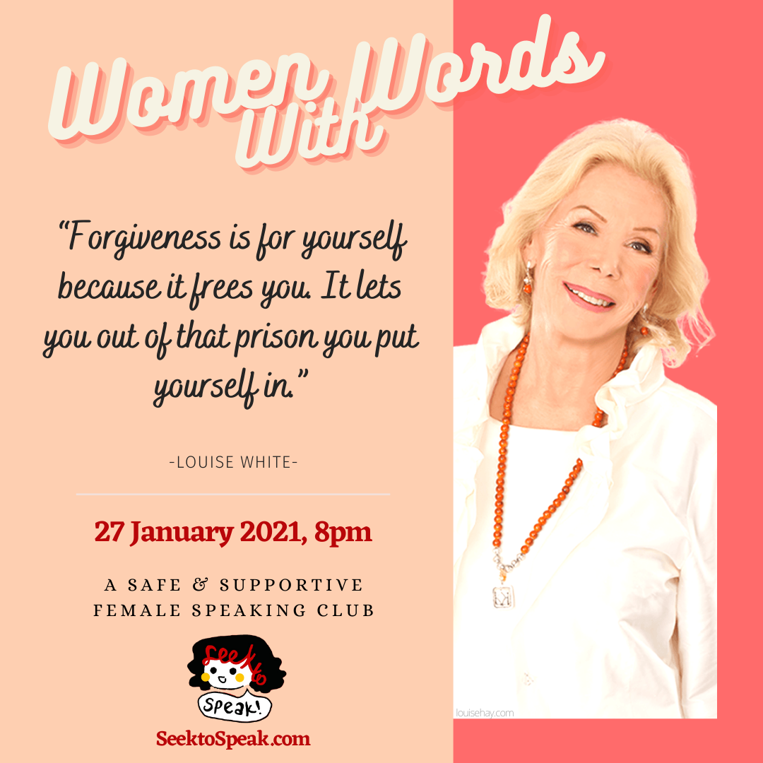 Women With Words – January Meetings!
