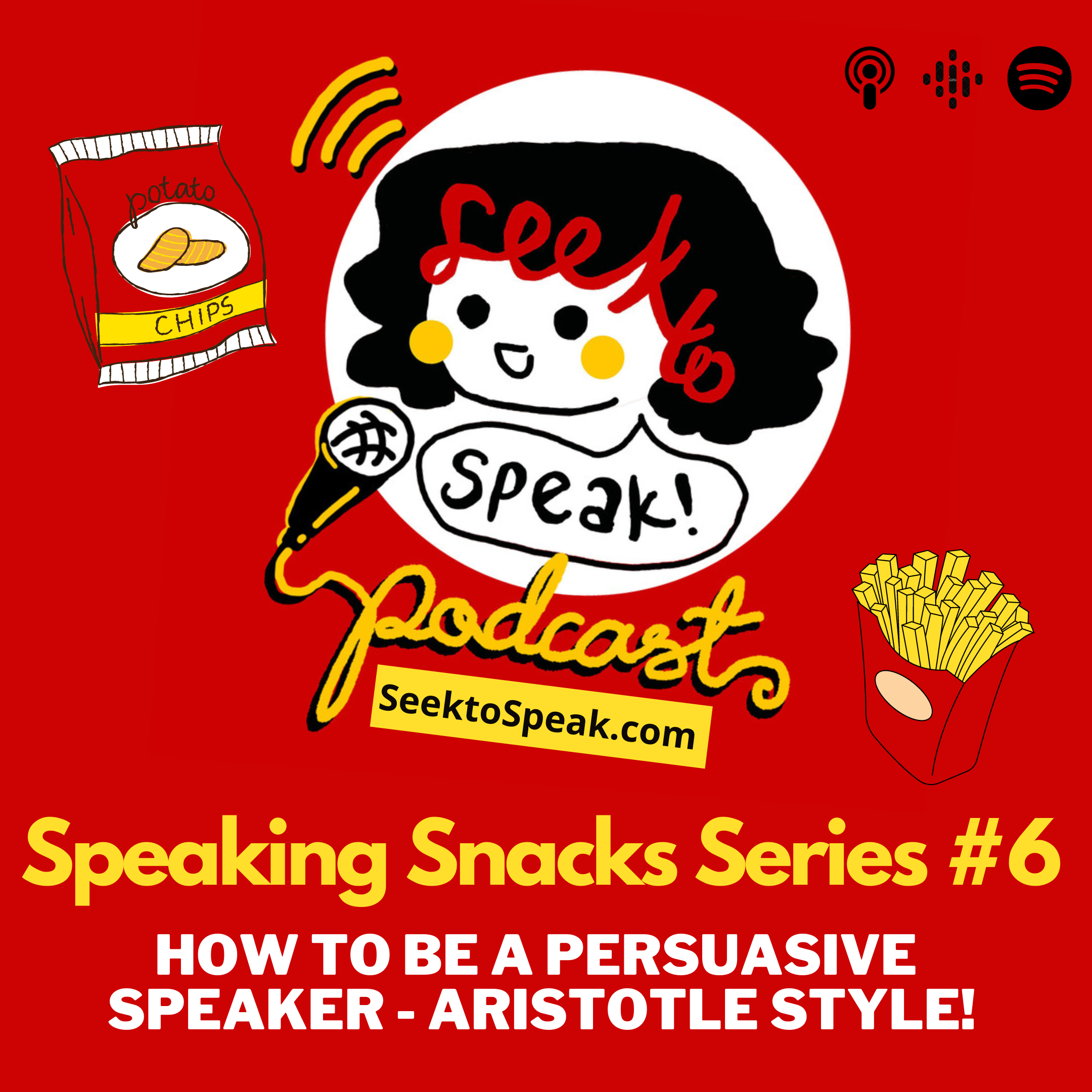Speaking Snack # 6: How to be a persuasive speaker – Aristotle style!