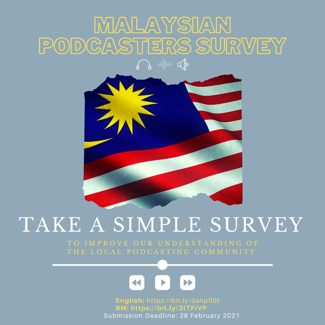 Malaysian Podcasters Survey