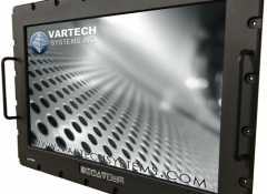 Wide Format Panel Mount w/ Passthrough Mounting Holes