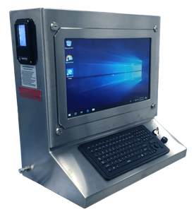 Division I Purge Protected Panel PC Workstation