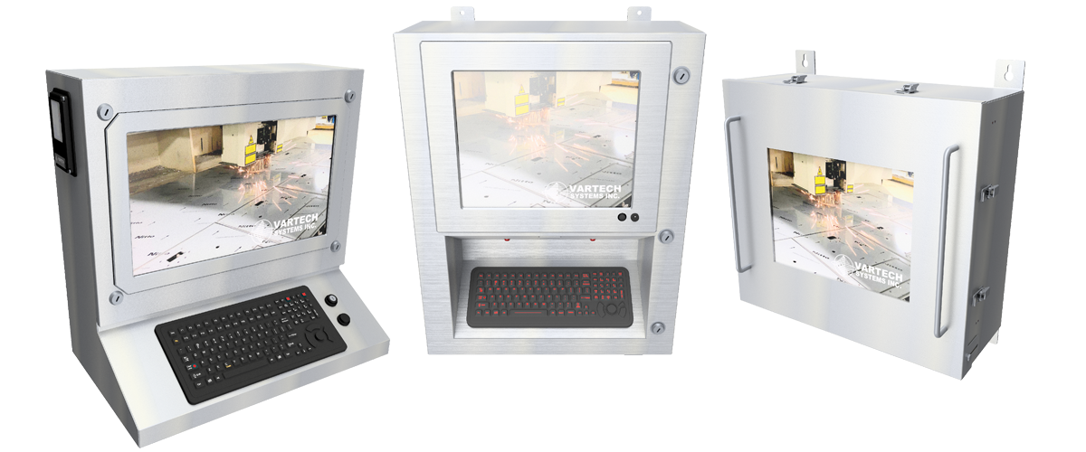Rugged Fully-Sealed Monitor and Panel PC Workstations